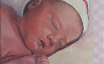 Geboorteschilderijtje