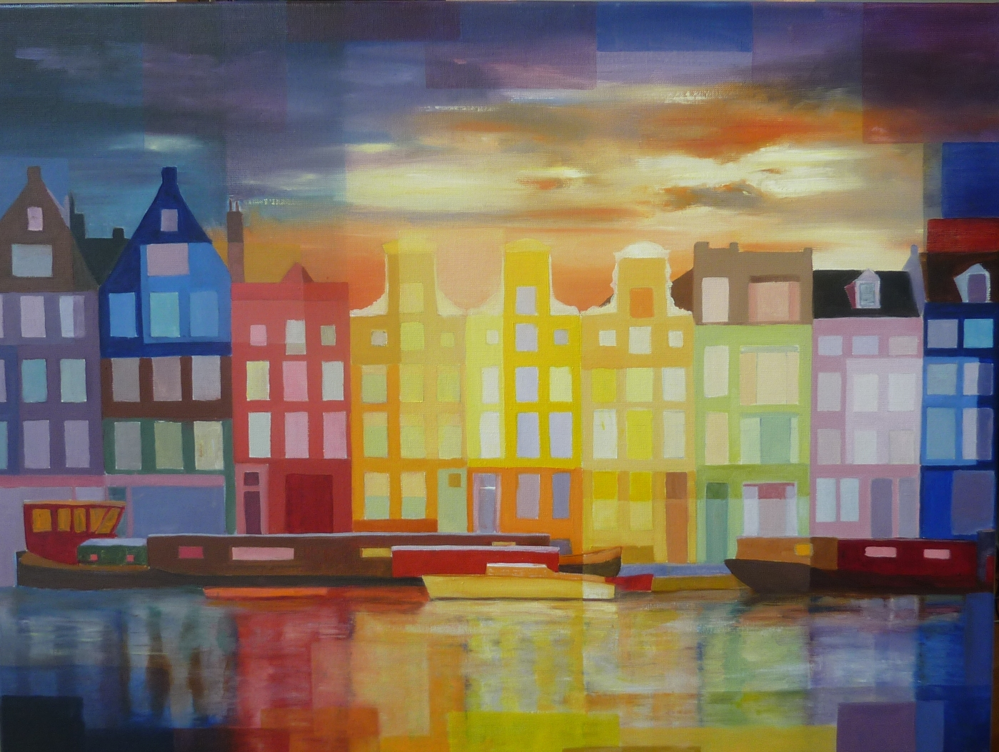 Foto van Amsterdam