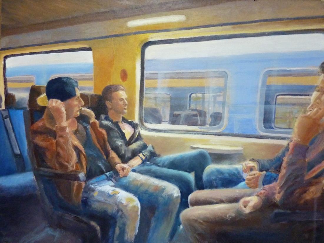 Foto van De treinreis