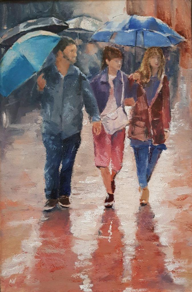 Regen in de stad 1